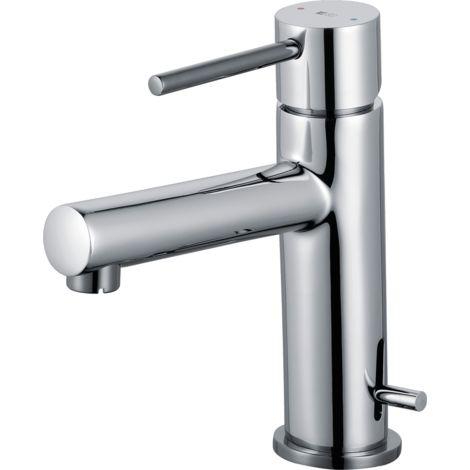 Picolo mitigeur lave mains chrome eau chaude et froide - Chromé