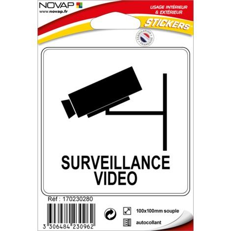 Pictogramme adhésif - Surveillance vidéo - 4230962