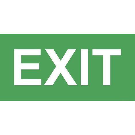 Pictogramme EXIT pour bloc secours AWEX