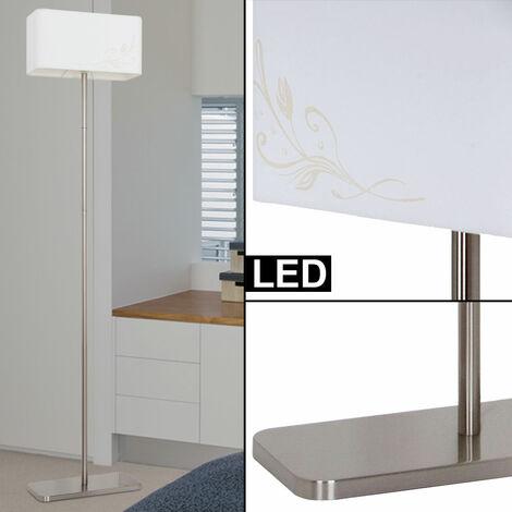 pie lámpara de pie lámpara de pie textil iluminación interruptor de pedal 9.5 Watt LED