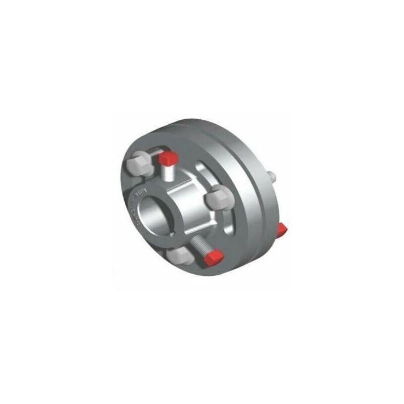 Pièce d'accouplement ajustable en aluminium 25,4 mm L= 120 mm - 25044.