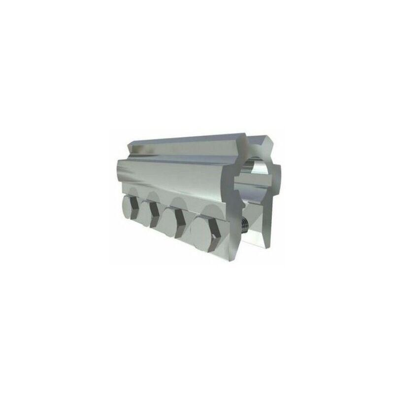 Pièce d'accouplement en aluminium 25,4 mm L= 120 mm - 25049.