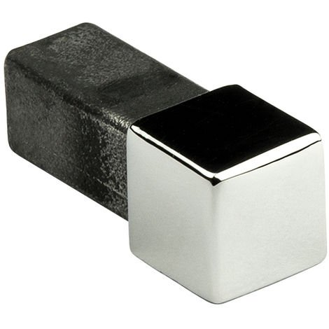 Pièce d'angle   carré   acier inoxydable   Hexim   10-12mm   HEX401