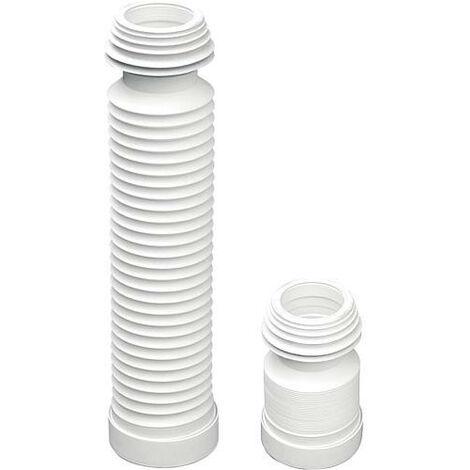 Piece de raccordement WC universelle DN90/110mm flexible longueur min. 220mm max. 570mm