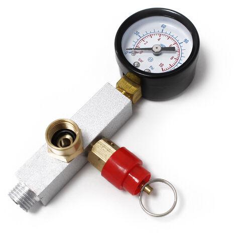 Pièce de rechange: Kit compresseur Airbrush Adapter pression Visage AS196AW manomètre