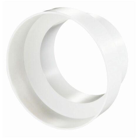 Pièce de réduction Ø 80/100 mm pour conduit de ventilatio