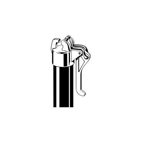 Pièce de serrage des cordes a linge en plastique pour piquet d'étandage de Ø 44 mm (Par 5)