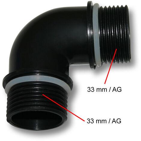 Pièce détachée pour SunSun Pompe de Bassin CQP-4500P Connecteur en Angle 75W