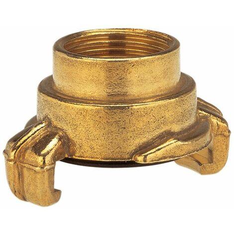 Pièce filetée à raccordement rapide GARDENA 7109-20 laiton attelage à griffes, 30,3 mm (1) (filet int.)