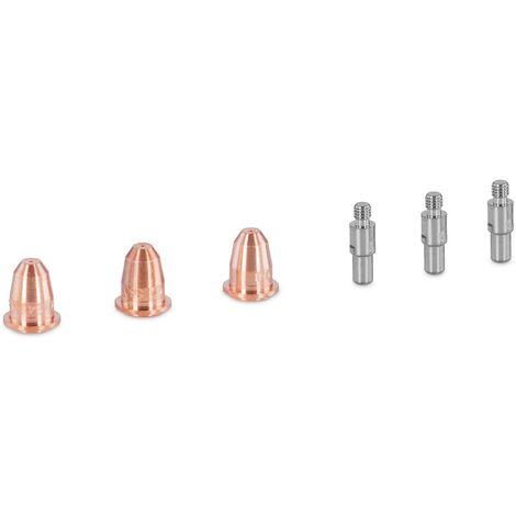 Pieces De Rechange Poste Welbach Decoupeur Plasma 3 Electrodes 3 Tuyeres 6Pieces