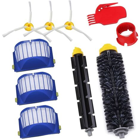 Pièces de rechange pour iRobot série 600 kit de maintenance kit de nettoyage pour 650620651621615616605 kits de 10