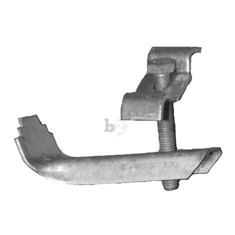 Pièces de serrage pour des grilles mailles 30/30mm