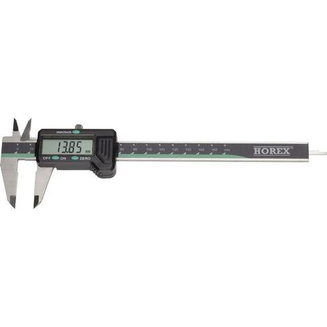 Pied à coulisse digital 200 mm Horex 2211218 Etalonnage d'usine (sans certificat) 1 pc(s) C90244