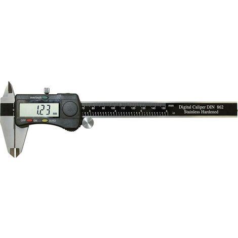 Pied à coulisse digital Bernstein 7-511 150 mm 1 pc(s) A064821