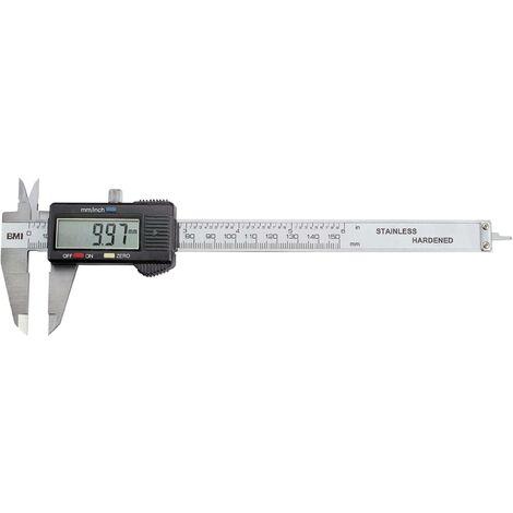 Pied à coulisse digital BMI 770150 150 mm 1 pc(s) R326991
