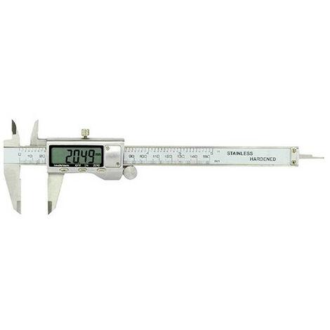 Pied à coulisse digital boîtier métal 150 x 40 mm