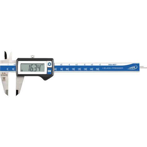 Pied à coulisse digital HELIOS PREISSER DIGI-MET 1320 417 150 mm 1 pc(s) C59106