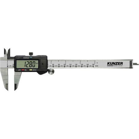 Pied à coulisse digital Kunzer 7EMS01 150 mm 1 pc(s) A043191