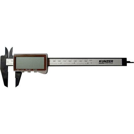 Pied à coulisse digital Kunzer 7EMS02 150 mm 1 pc(s)