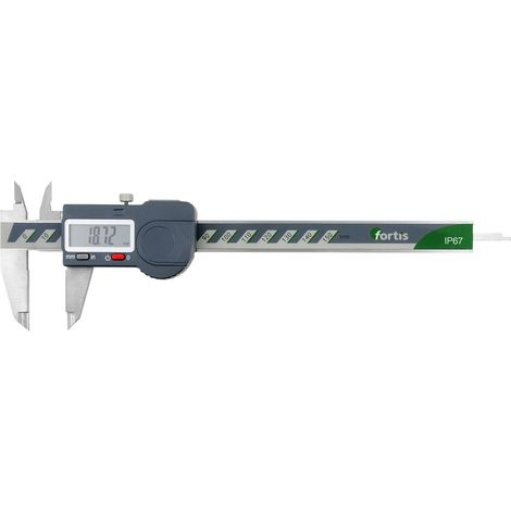Pied à coulisse numérique 150/0,01mm IP67 FORTIS 1 PCS