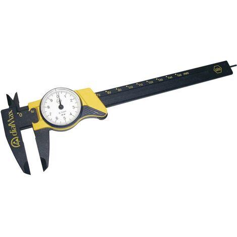 Pied à coulisse pour horlogerie Wiha DIALMAX 31439 150 mm 1 pc(s)