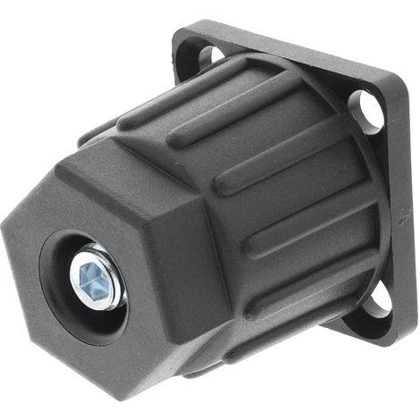 Pied ajustable RS PRO en Nylon Type 40, Rainure 8mm, M8