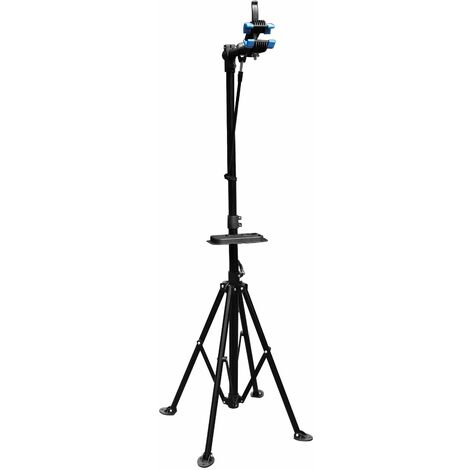 Pied d'atelier pour vélos pivotant 360° Support de montage jusqu'à 30kg