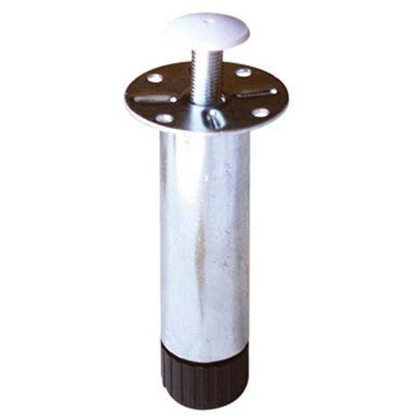 Pied de caisson MANART - hauteur 130 mm - métal zingué - 117130