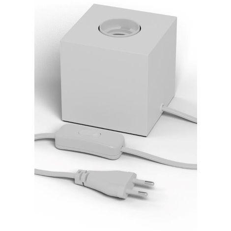 Calex Lampe Holder - Pied de lampe forme cube E27