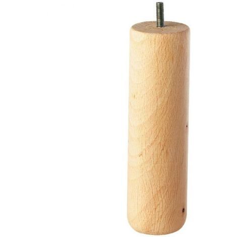 Pied de lit cylindrique