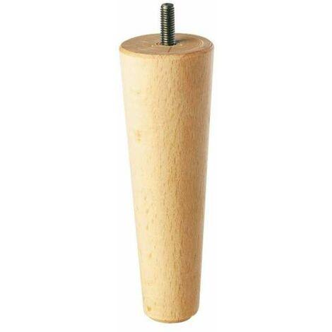 Pied de lit Fuseau - Diamètre 50 mm - Hauteur 150 mm