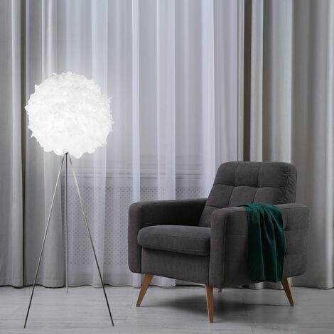 Pied de luxe lampe à ressort boule lumineuse salon salle à manger ensemble de projecteurs comprenant des ampoules LED