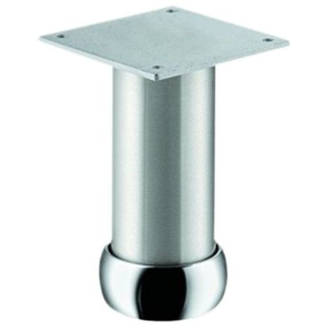 Pied De Meuble Aluminium Rond Reglable