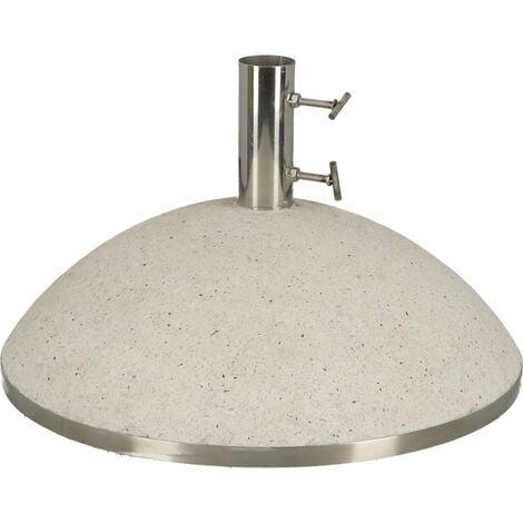 Pied de parasol granit 43,9kg Blanc