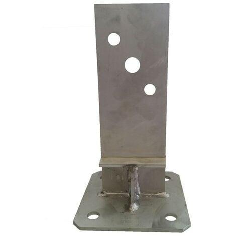 Pied de poteau en âme PPSDT230 INOX A4 - SIMPSON