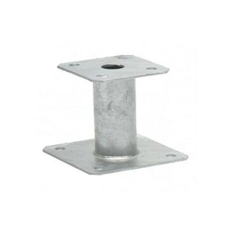 Pied de poteau type a ht100- 100x100/130x130