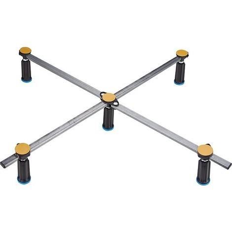 Pied de receveur de douche R5 SGS XL pour bac acrylique et acier de 75x80cm - 100x100 cm