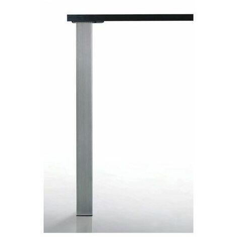 Pied de table carré quadra - 60 x 60 mm - CAMAR