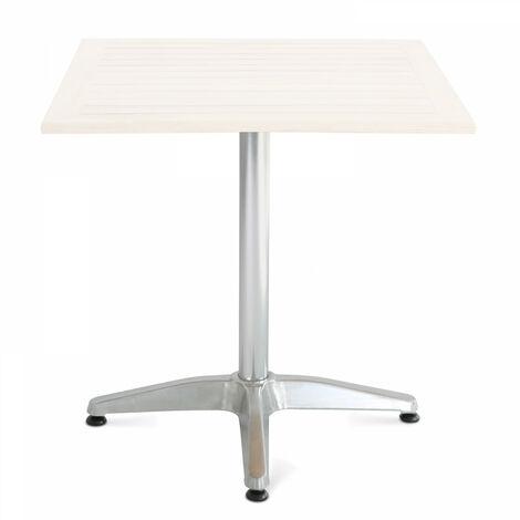 Pied de table en aluminium