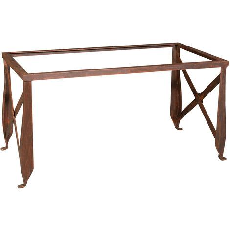 Pied de table en fer, L150xPR76xH75 cm