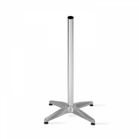 Pied de table mange debout en aluminium