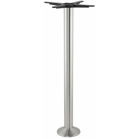 Pied de Table Sans Plateau 110cm - Argenté