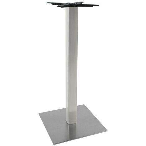 Pied de Table Sans Plateau Métal 110cm - Argenté