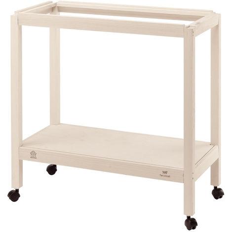 Pied en bois pour cage Giulietta Pour Giulietta taille 5