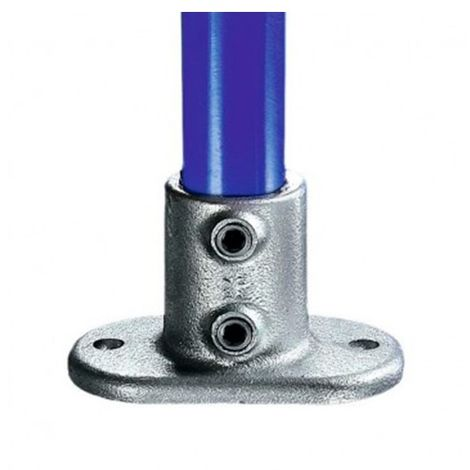 Pied KEE KLAMP 62-9 pour tubes D. 60,3 mm - Galvanisé - KEE62-9