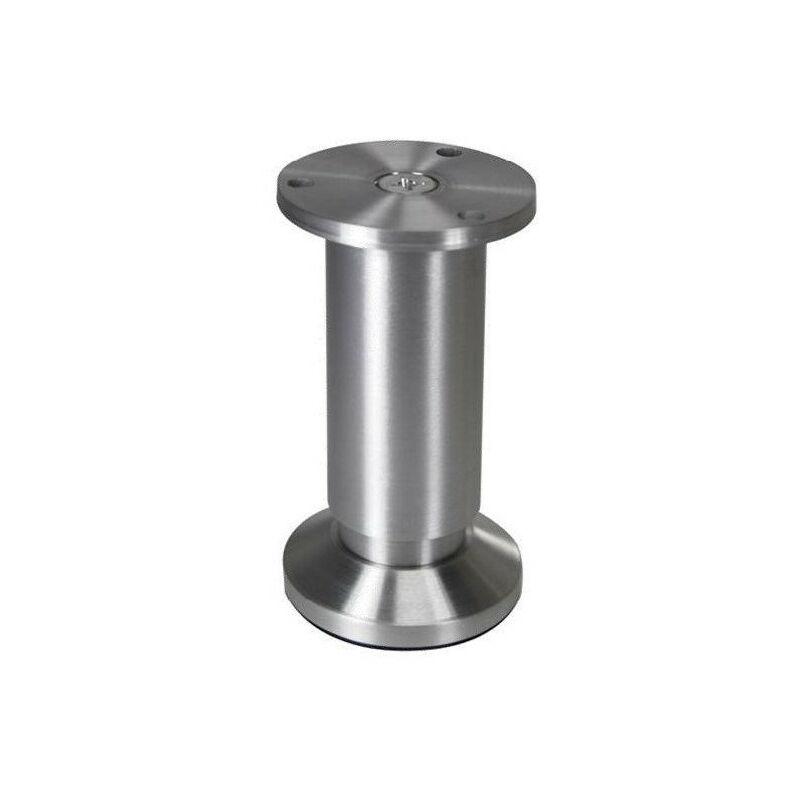 Pied Meuble Reglable Aluminium 100 Hauteur En Mm 100 53684