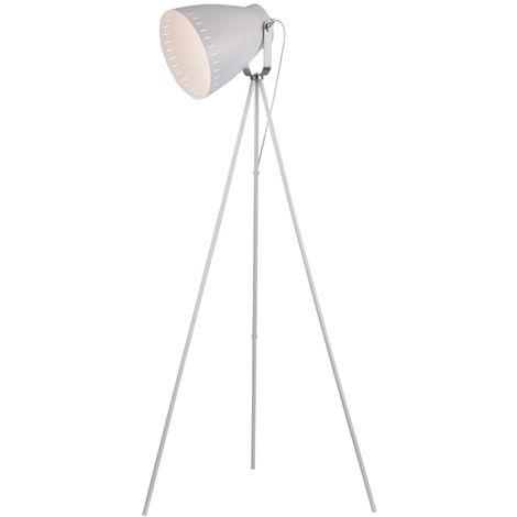 Pied mobile design avec lampe trépied dimmable, télécommande, ensemble mobile comprenant des ampoules LED RVB