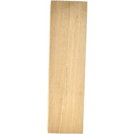 Pied table basse chêne massif 40