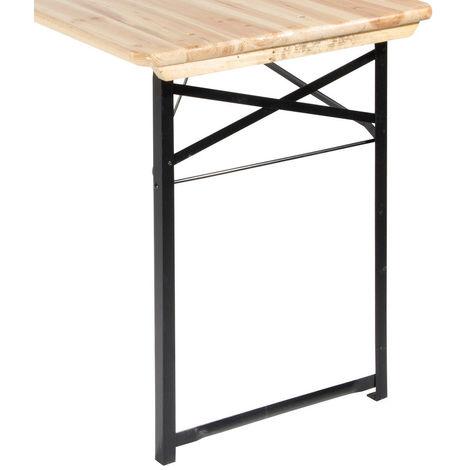 Piede gamba di ricambio per tavolo set birreria zampa in ferro EG54253