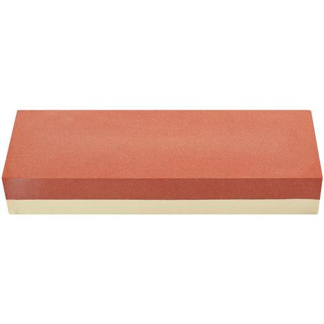 Piedra de afilar profesional de corte de piedra de afilar, doble cara,Rojo + amarillo, 400/1000